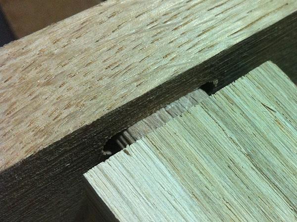 Réalisation dune table de salon en chêne massif (45  ~ Travailler Le Bois