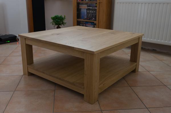 Réalisation dune table de salon en chêne massif (55  ~ Travailler Le Bois