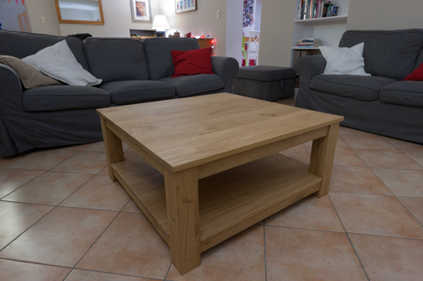 Table rabattable cuisine paris meuble barnabe - Customiser une table basse en bois ...