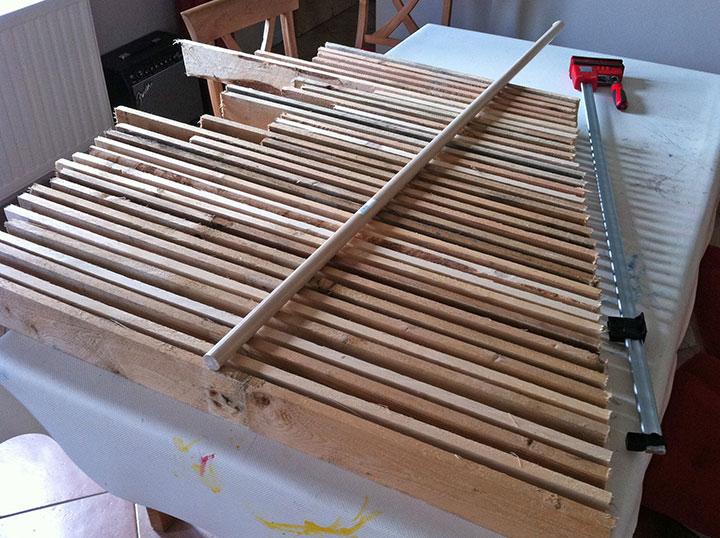 Un sapin de no l en bois de palette - Sapin de noel en palette ...