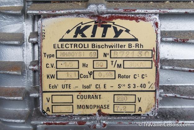 Nouvelle venue dans l'atelier : une Kity 635 Kity_635-19