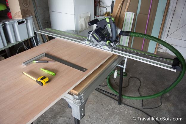 Fabrication d 39 un placard 1 re partie travailler le bois - Fabriquer un placard mural en bois ...