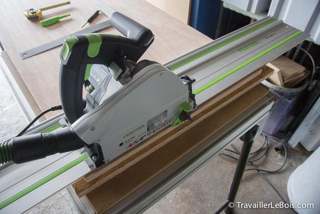 Fabrication d 39 un placard 1 re partie travailler le bois - Fabriquer un placard d angle ...