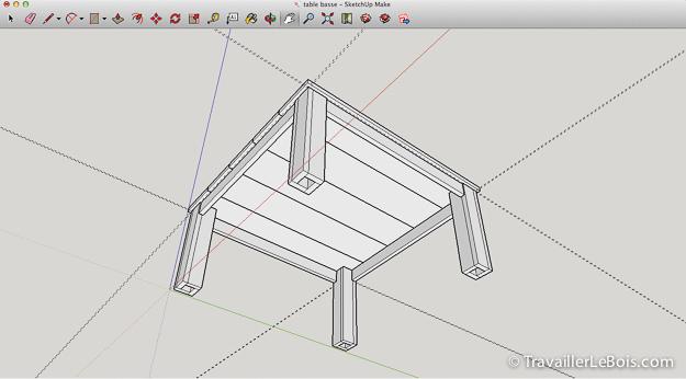 Une table de salon en chêne (premier meuble) -> PHOTOS page 8 - Page 6 Sketchup_menuiserie_meuble-26