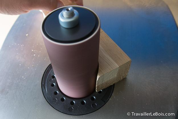 la ponceuse cylindre oscillant triton tsps450 travailler le bois. Black Bedroom Furniture Sets. Home Design Ideas
