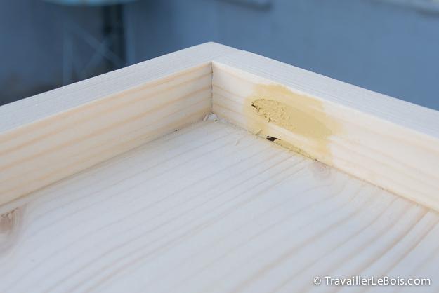 Fabrication d 39 un coffre jouets en bois travailler le bois - Reboucher trou bois ...