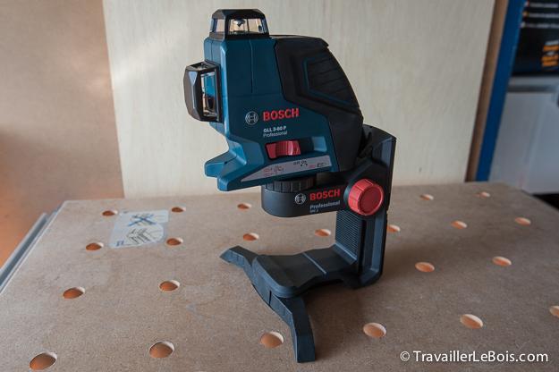 le niveau laser bosch gll 3 80 p le coin des. Black Bedroom Furniture Sets. Home Design Ideas