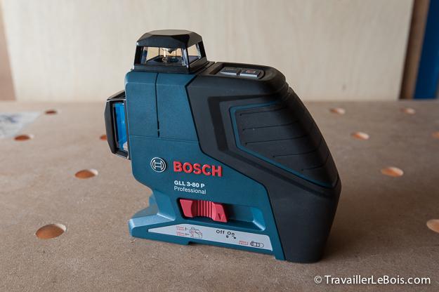 le niveau laser bosch gll 3 80 p. Black Bedroom Furniture Sets. Home Design Ideas
