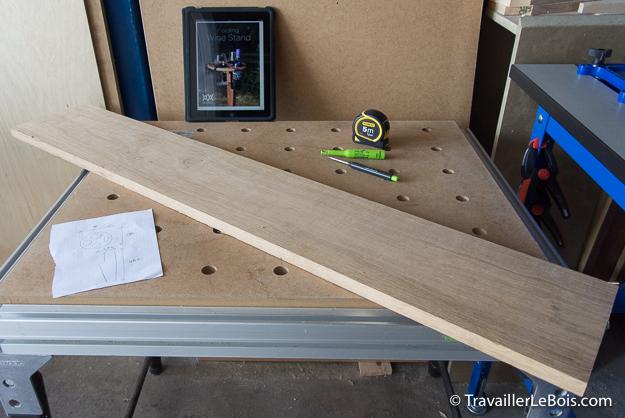 Une table pliante pour ap ro pique nique - Fabriquer une table pliante ...