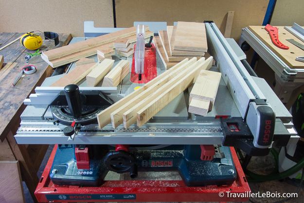 La scie sur table bosch gts 10 xc 2 me partie utilisation - Scie sur table bosch pts 10 ...