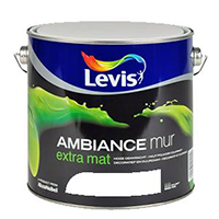 Peinture blanche LEVIS ambiance extra mat