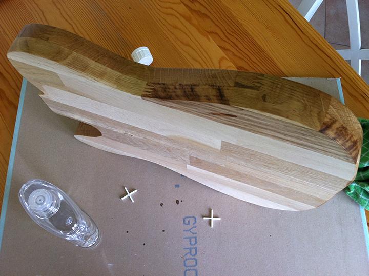 Comment protéger une planche a découper en bois