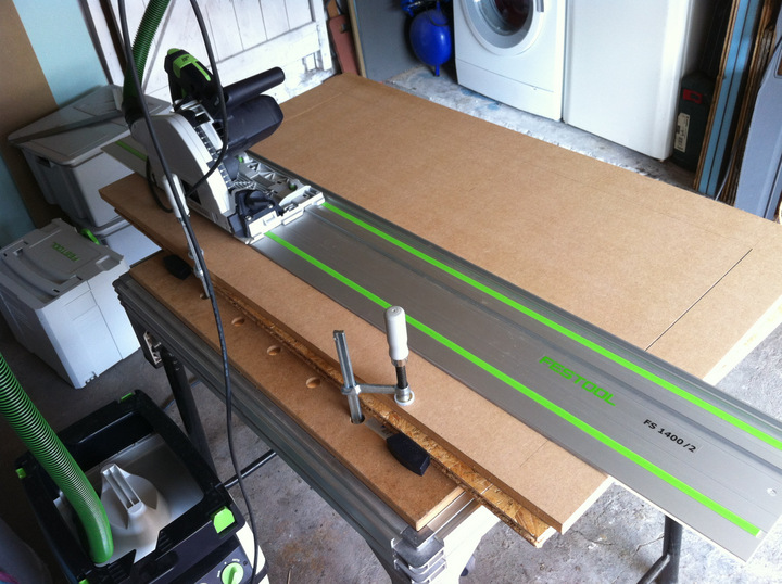 Scie Festool TS 55 EBQ-Plus