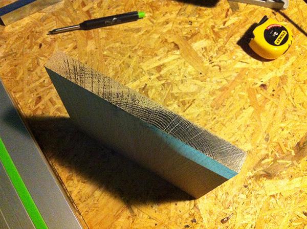 Travailler le bois table chene