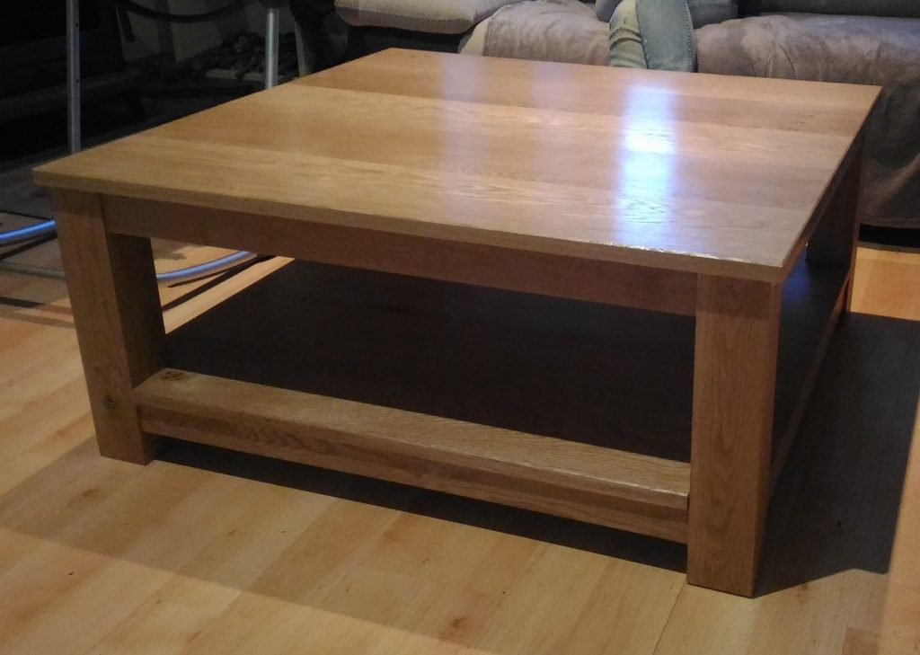 Table basse en bois DIY