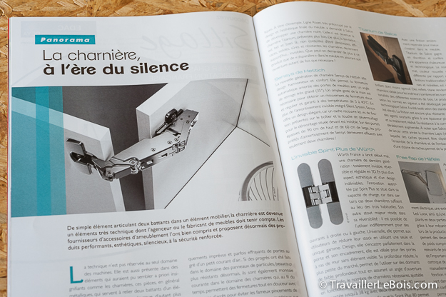 Magazine sur le bois L'Agenceur Bois