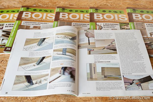 Magazine sur le bois Bois+