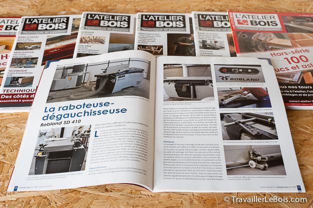 Magazine sur le bois L'Atelier Bois