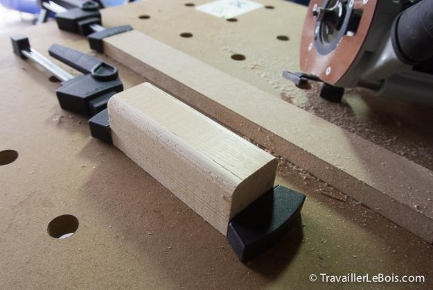 Fraise quart de rond défonceuse travail du bois