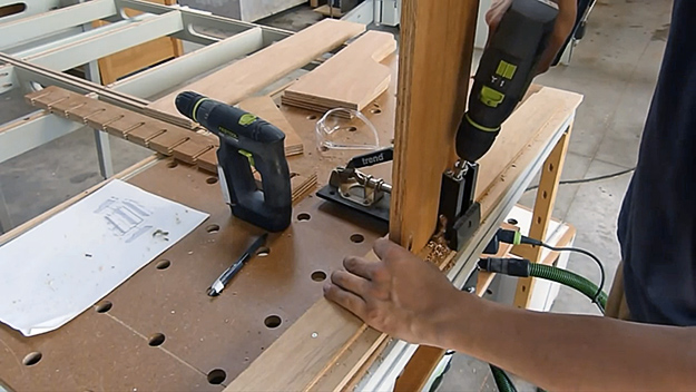 Timothy Wilmots Festool drill