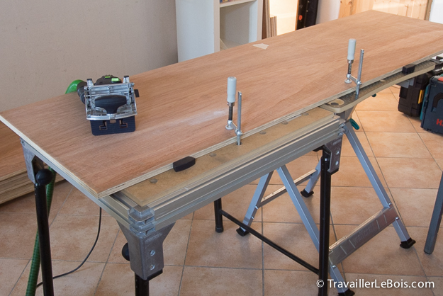 Fabrication d'un placard Festool Domino