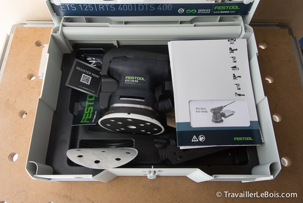 Systainer Festool ETS 125 EQ-Plus