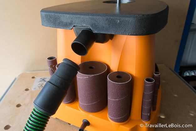 Ponceuse à cylindre oscillant Triton TSPS450