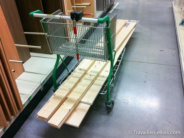 achat bois pour r alisation coffre jouets. Black Bedroom Furniture Sets. Home Design Ideas