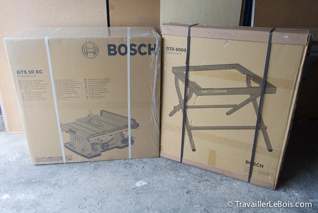 Scie sur table Bosch GTS 10XC