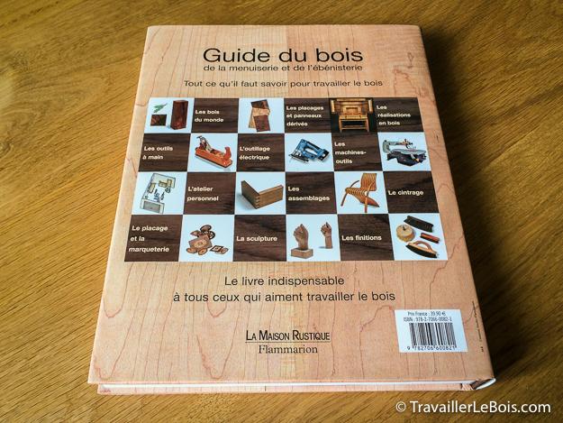 Livre sur le travail du bois : Guide du bois, de la menuiserie et de l'ébenisterie