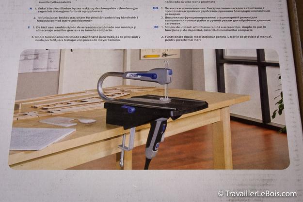 Scie à chantourner Dremel Moto-saw