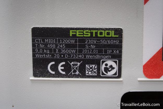 Aspirateur Festool CTL MIDI