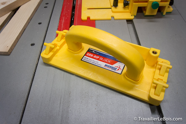 Poussoir de sécurité Micro Jig GRR-RIP Block