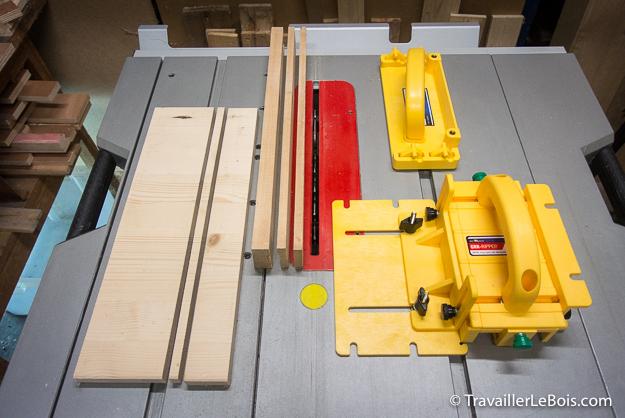 Poussoir de sécurité Micro Jig GRR-RIPPER et RIP Block