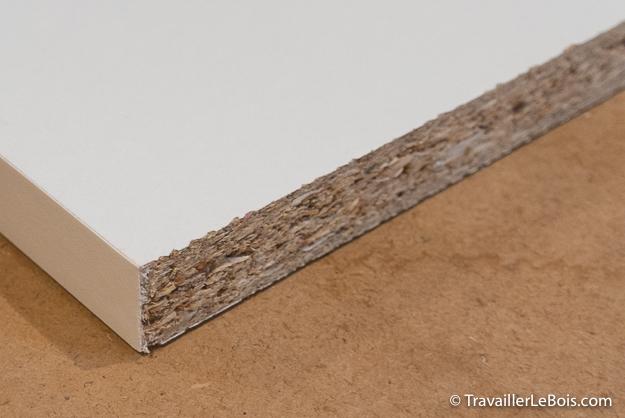 Planche de mélaminé blanc