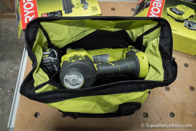 Cloueur électrique sans fil Ryobi R18N18G