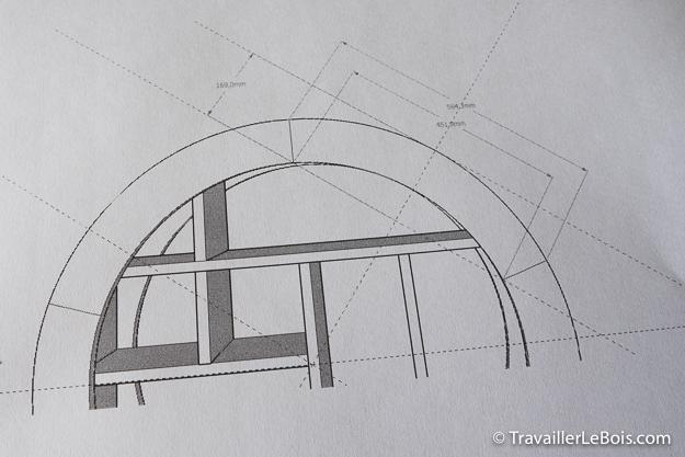 Plan hôtel à insectes (SketchUp)