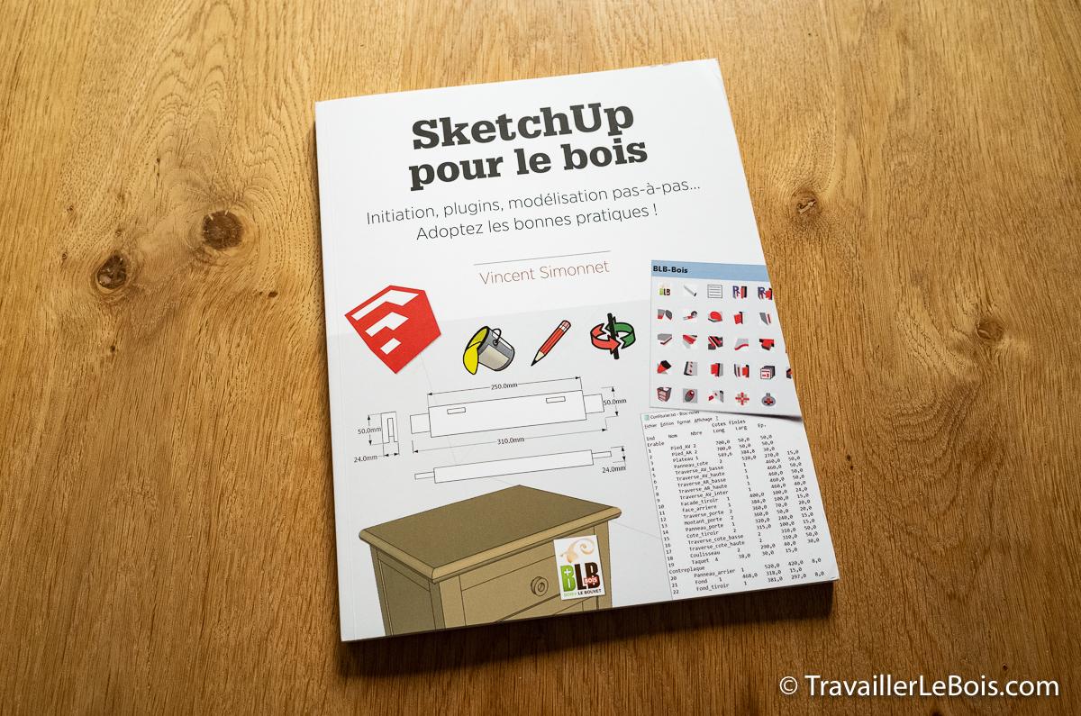 Livre SketchUp pour le bois